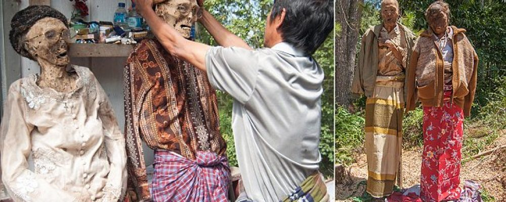 Tana Toraja: The Land Where The Dead Are Fed And Clothed