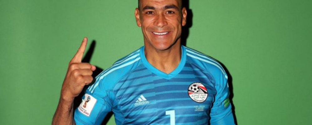 Egypt goalkeeper Essam El-Hadary becomes oldest World Cup player in history