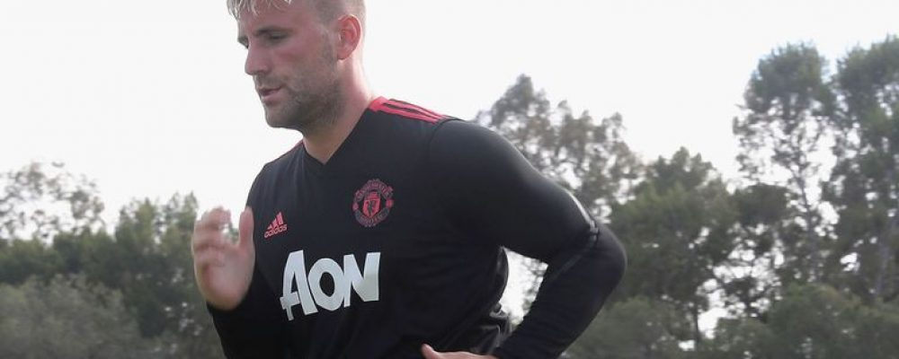Manchester United's Luke Shaw says he has a 'Wayne Rooney type of body'